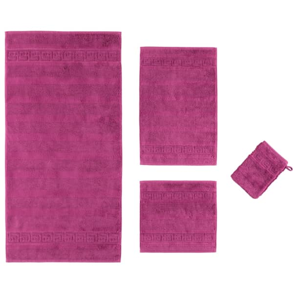Cawö - Noblesse Uni 1001 - Farbe: purpur - 833