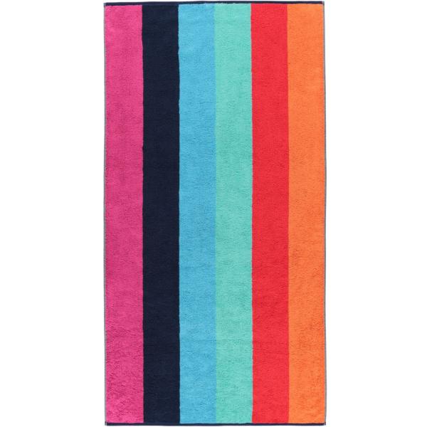 Cawö - Art Blockstreifen 147 - Farbe: multicolor - 12 Duschtuch 70x140 cm