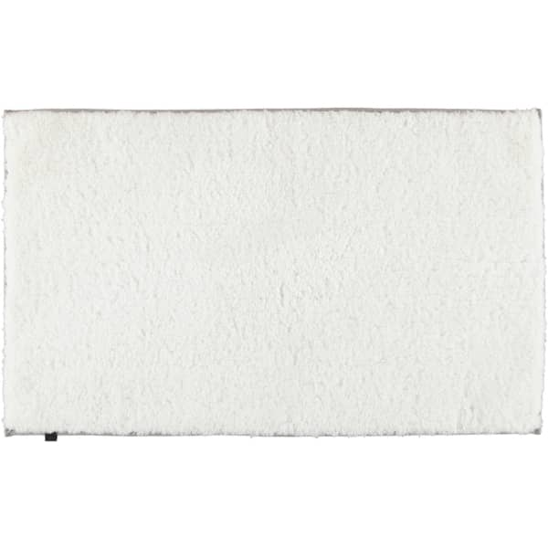 Cawö Home Badteppich Frame 1006 - Farbe: weiß - 600 60x100 cm
