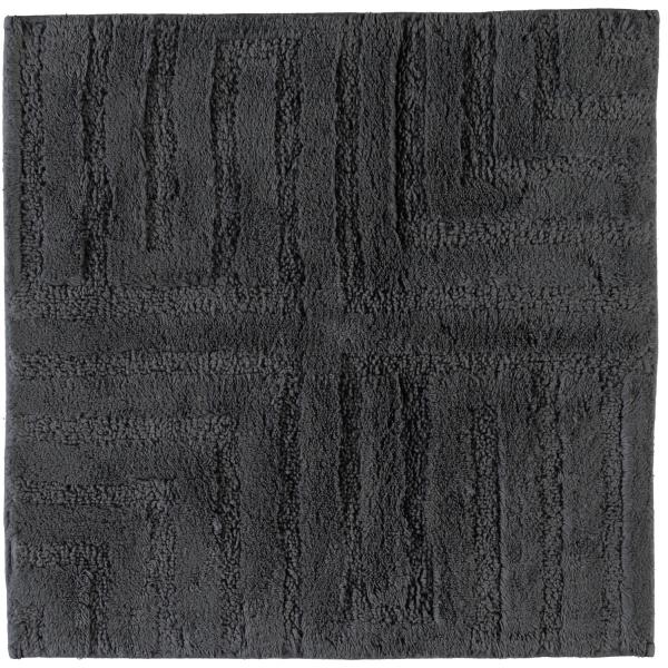 Cawö Home - Badteppich Struktur 1004 - Farbe: anthrazit - 774 60x60 cm