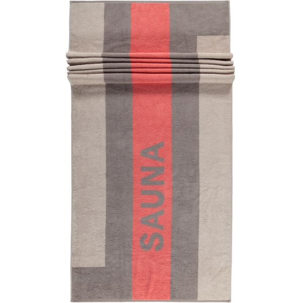 Cawö Saunatuch Sauna 232 - Größe: 80x200 - Farbe: sand - 33