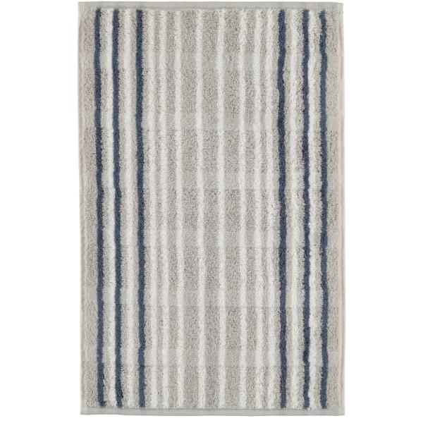 Cawö - Noblesse Lines 1082 - Farbe: platin - 76 Gästetuch 30x50 cm