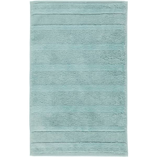 Cawö - Noblesse2 1002 - Farbe: seegrün - 455 Gästetuch 30x50 cm