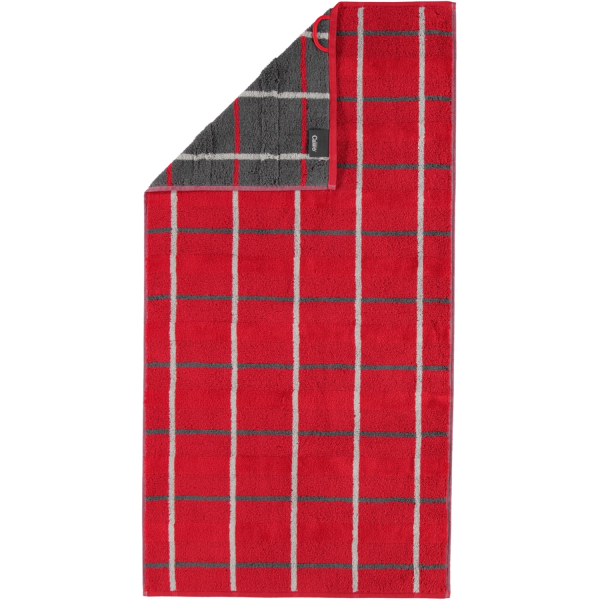 Cawö - Noblesse Square 1079 - Farbe: rot - 27 Handtuch 50x100 cm