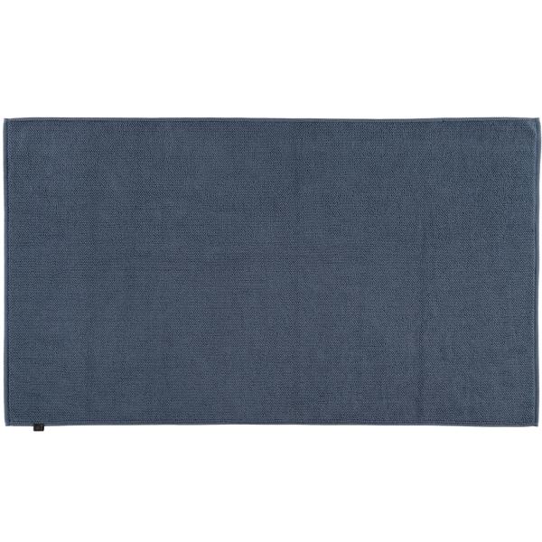 Cawö Home - Badteppich Loop 1007 - Farbe: nachtblau - 111 70x120 cm