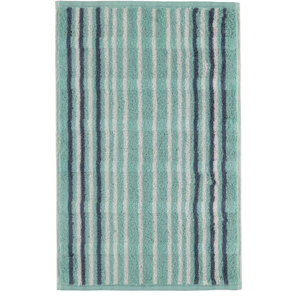 Cawö - Noblesse Lines 1082 - Farbe: seegrün - 44 Gästetuch 30x50 cm