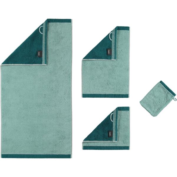 Cawö Plaid Doubleface 7070 - Farbe: seegrün - 44
