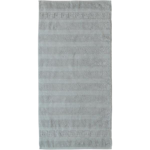 Cawö - Noblesse Uni 1001 - Farbe: platin - 705 Handtuch 50x100 cm