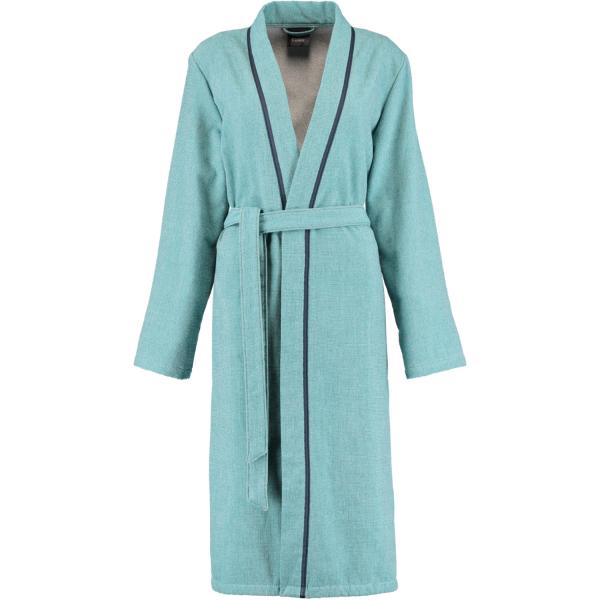 Cawö Damen Bademantel Kimono 6122 - Farbe: türkis - 41 XS