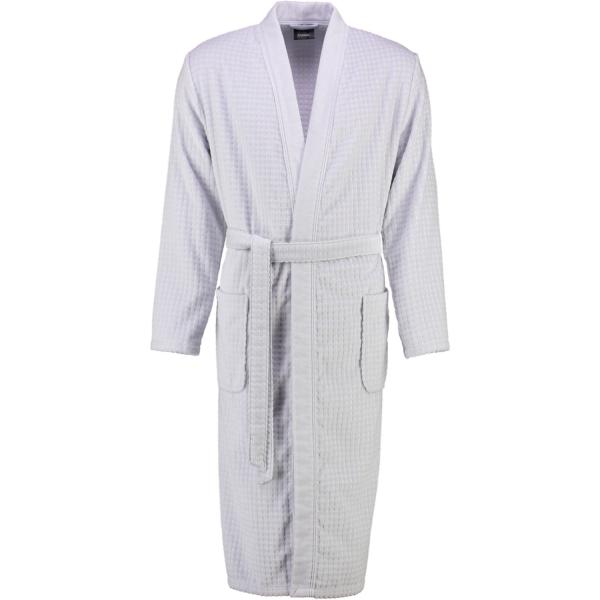 Cawö Herren Bademantel Kimono 3714 - Farbe: sterling - 721 XL