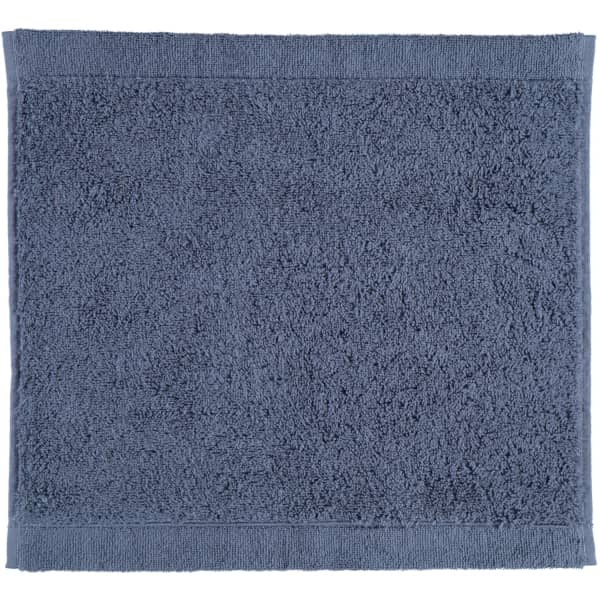 Cawö - Life Style Uni 7007 - Farbe: nachtblau - 111 Seiflappen 30x30 cm