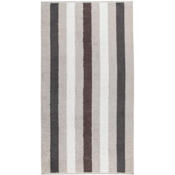 Cawö Heritage Stripes 4011 - Farbe: platin - 77 Duschtuch 80x150 cm