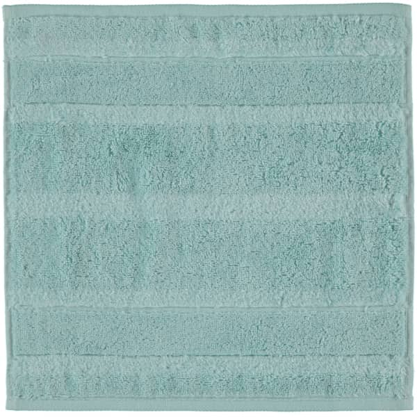 Cawö - Noblesse2 1002 - Farbe: soft-türkis - 432 Seiflappen 30x30 cm