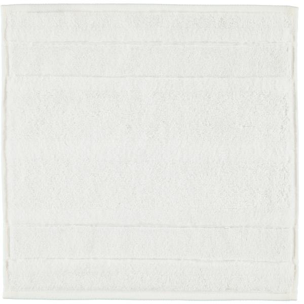 Cawö - Noblesse2 1002 - Farbe: 600 - weiß Seiflappen 30x30 cm