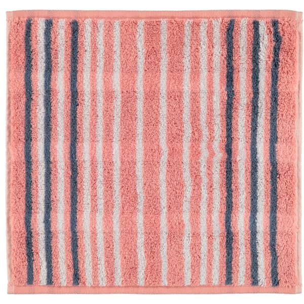 Cawö - Noblesse Lines 1082 - Farbe: rouge - 22 Seiflappen 30x30 cm