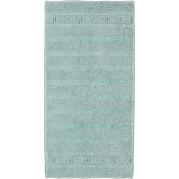 Cawö - Noblesse Uni 1001 - Farbe: seegrün - 455 Handtuch 50x100 cm