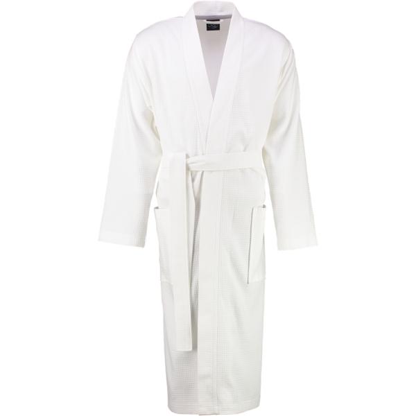 Cawö Home Herren Bademantel Kimono 816 - Farbe: weiss - 67 M