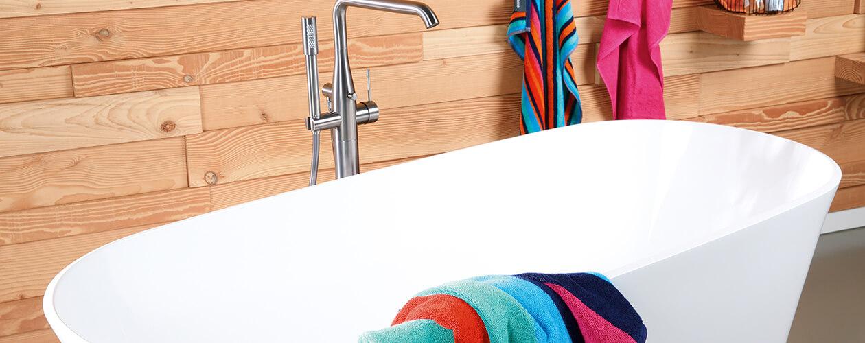 Cawö - Art Streifen 146 - Farbe: multicolor - 12 Handtuch 50x100 cm Detailbild 3