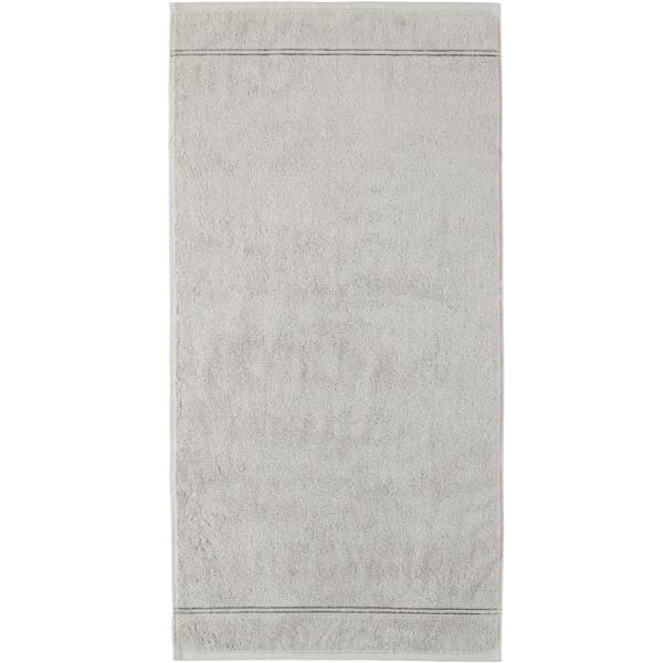 Cawö Carat Borte 580 - Farbe: platin - 705 Handtuch 50x100 cm