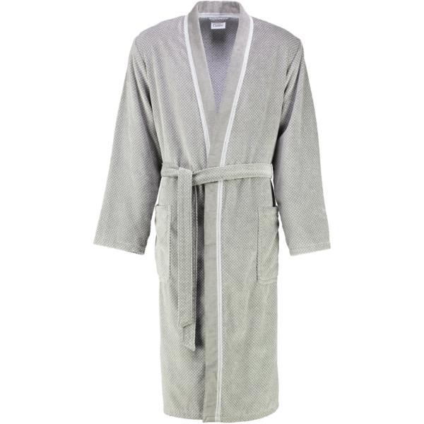 Cawö Herren Bademantel Kimono 1832- Farbe: stein - 37 XL
