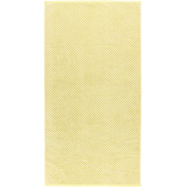 Cawö Reed Allover 956 - Farbe: lemon - 57 Duschtuch 70x140 cm