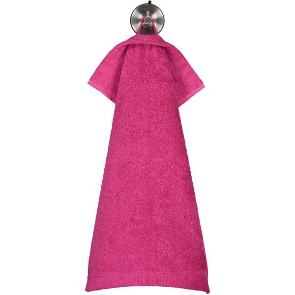 Cawö - Life Style Uni 7007 - Farbe: pink - 247 Gästetuch 30x50 cm