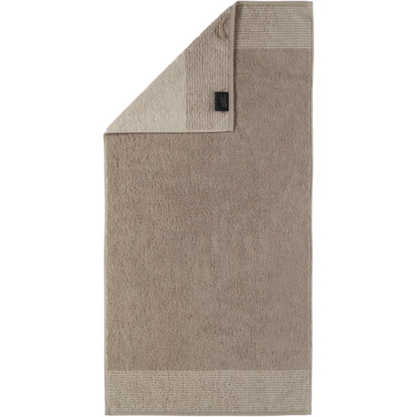 Cawö - Luxury Home Two-Tone 590 - Farbe: sand - 33 Handtuch 50x100 cm