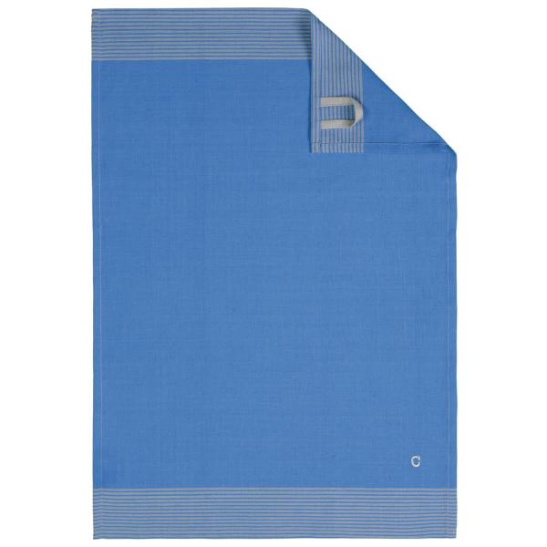 Cawö Home Two-Tone 590 - Geschirrtuch 50x70 cm - Farbe: blau - 17