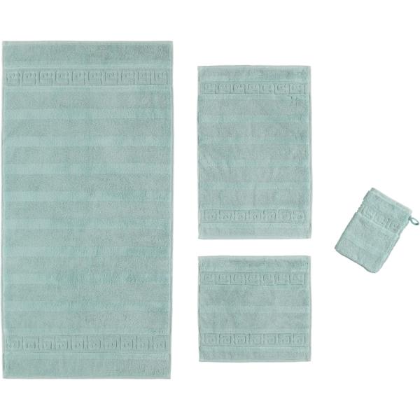 Cawö - Noblesse Uni 1001 - Farbe: seegrün - 455