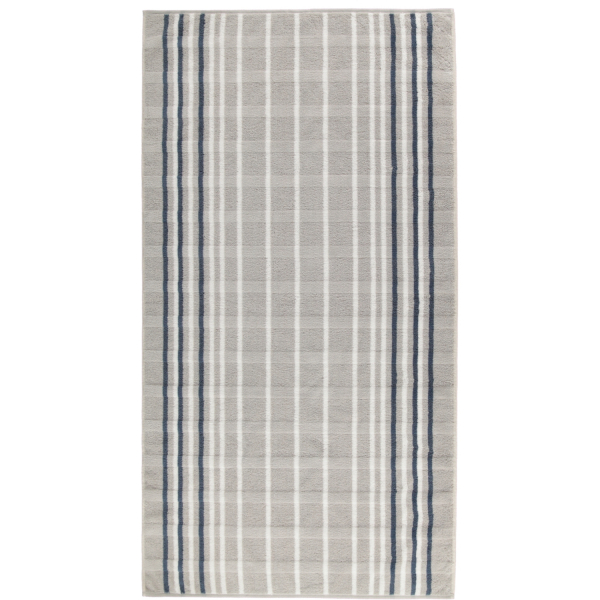 Cawö - Noblesse Lines 1082 - Farbe: platin - 76 Duschtuch 80x150 cm