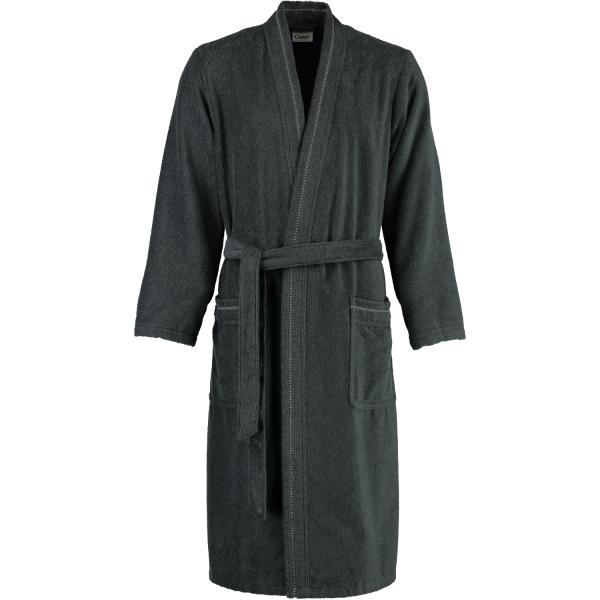 Cawö - Herren Bademantel - Kimono 4511 - Farbe: anthrazit - 774 L