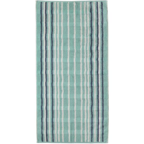 Cawö - Noblesse Lines 1082 - Farbe: seegrün - 44 Handtuch 50x100 cm