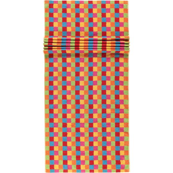 Cawö - Life Style Karo 7017 - Farbe: multicolor - 25 Saunatuch 70x180 cm