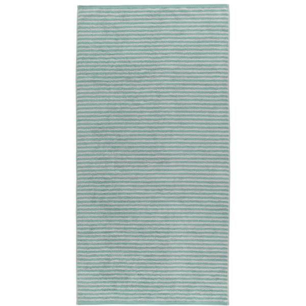 Cawö - Campus Ringel 955 - Farbe: seegrün - 40 Duschtuch 70x140 cm