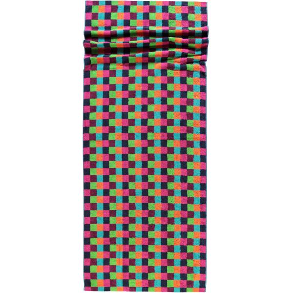 Cawö - Life Style Karo 7047 - Farbe: 84 - multicolor Saunatuch 70x180 cm