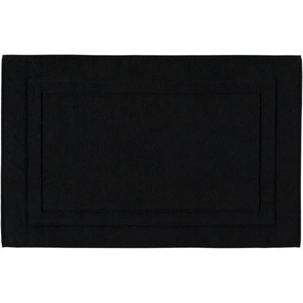 Cawö Badematte Classic 303 - Größe: 50x80 cm - Farbe: schwarz - 906