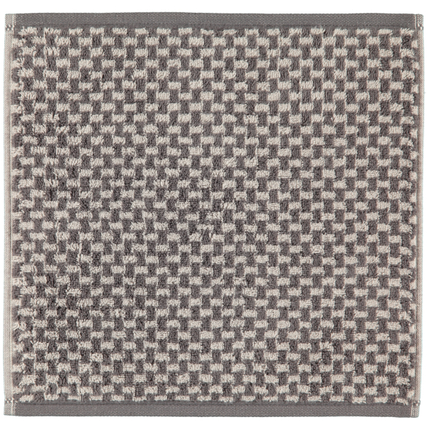 Cawö Reed Allover 956 - Farbe: anthrazit - 77 Seiflappen 30x30 cm