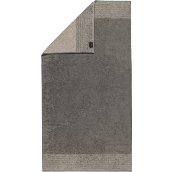 Cawö - Luxury Home Two-Tone 590 - Farbe: graphit - 70 Duschtuch 80x150 cm