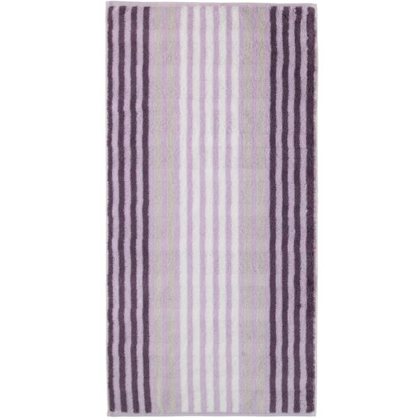 Cawö Noblesse Seasons Streifen 1083 - Farbe: lavendel - 88 Handtuch 50x100 cm