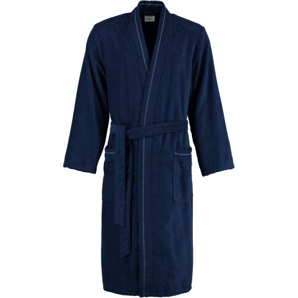 Cawö - Herren Bademantel - Kimono 4511 - Farbe: navy - 133