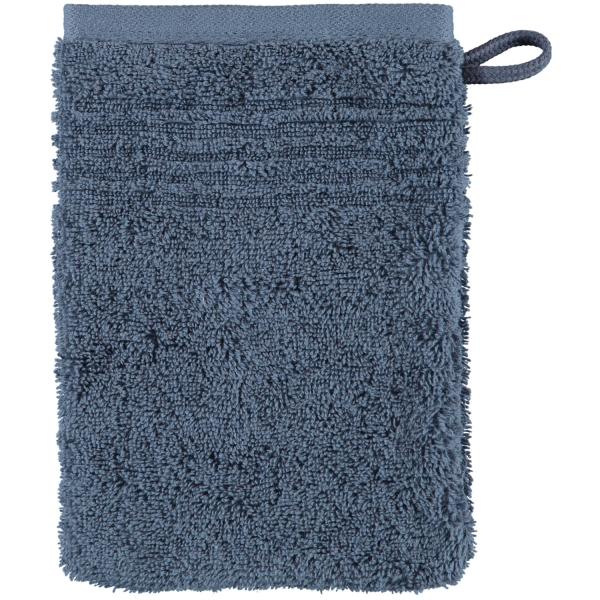 Cawö Essential Uni 9000 - Farbe: nachtblau - 111 Waschhandschuh 16x22 cm