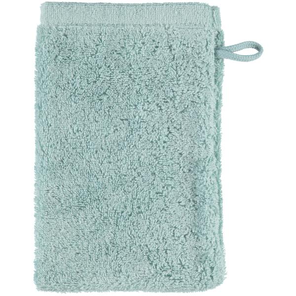 Cawö - Life Style Uni 7007 - Farbe: seegrün - 455 Waschhandschuh 16x22 cm
