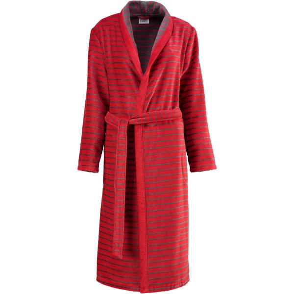Cawö - Damen Bademantel Schalkragen Shades 1491 - Farbe: rot - 27 L