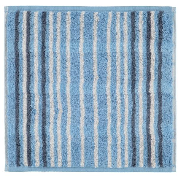 Cawö - Noblesse Lines 1082 - Farbe: sky - 11 Seiflappen 30x30 cm