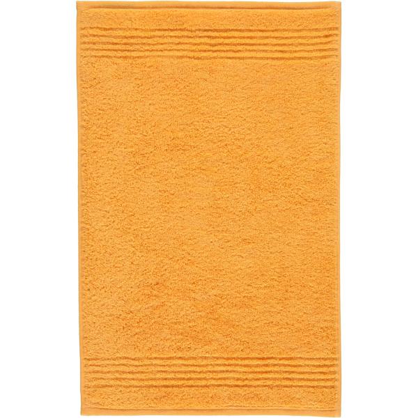 Cawö Essential Uni 9000 - Farbe: apricot - 552 Gästetuch 30x50 cm