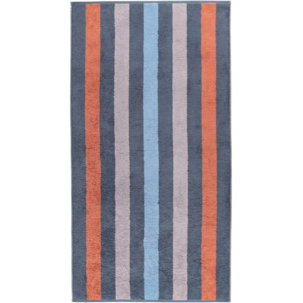 Cawö Heritage Stripes 4011 - Farbe: nachtblau - 11 Duschtuch 80x150 cm