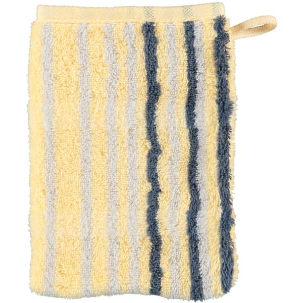 Cawö - Noblesse Lines 1082 - Farbe: honig - 55 Waschhandschuh 16x22 cm