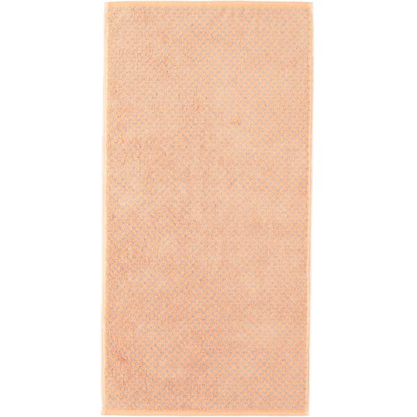 Cawö Reed Allover 956 - Farbe: peach - 37 Handtuch 50x100 cm
