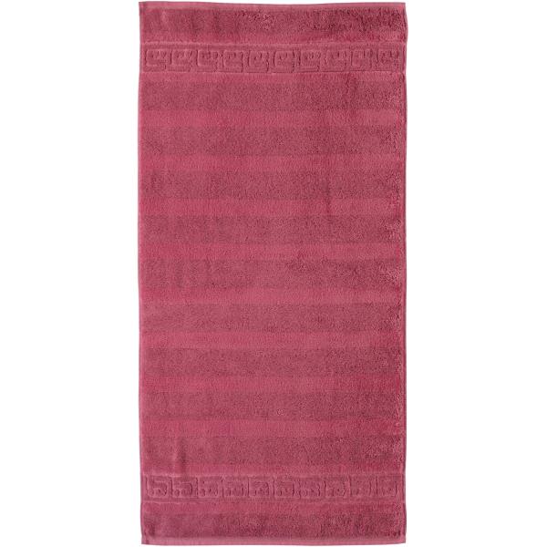 Cawö - Noblesse Uni 1001 - Farbe: 240 - rosa Handtuch 50x100 cm