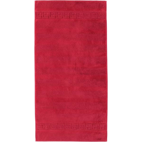 Cawö - Noblesse Uni 1001 - Farbe: 280 - bordeaux Handtuch 50x100 cm